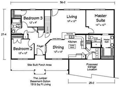 modular homes with basement floor plans 606 best house plans to show mom images on pinterest