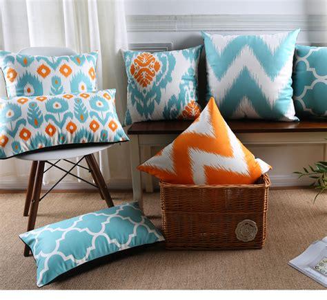 moroccan cushions covers velvet throw pillow geometric