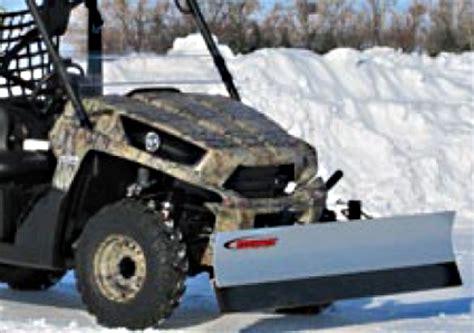 high quality snowsport all terrain atv/utv snow plow