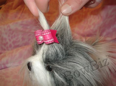 how to make yorkie hair bows placing bows photos bows quality bows yorkie maltese shih tzu by bowbiz