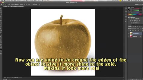 creating gold objects how to photoshop ep 1
