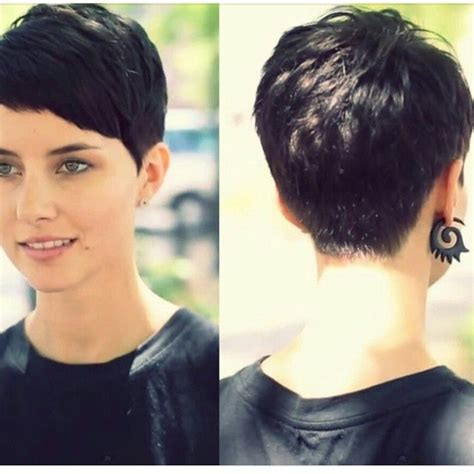 pixie cut that flips in back 25 best ideas about pixie cut back on pinterest growing