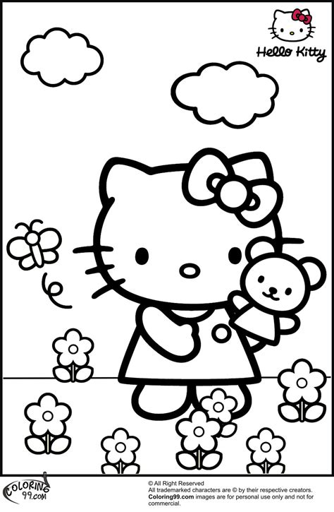 hard hello kitty coloring pages september 2013 team colors