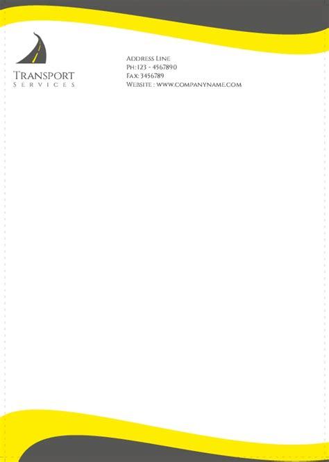 trucking company letterhead templates letterheads
