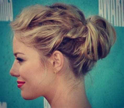 upstyles with shoulder length hair 25 effortless updos for medium length hair hairstyle for