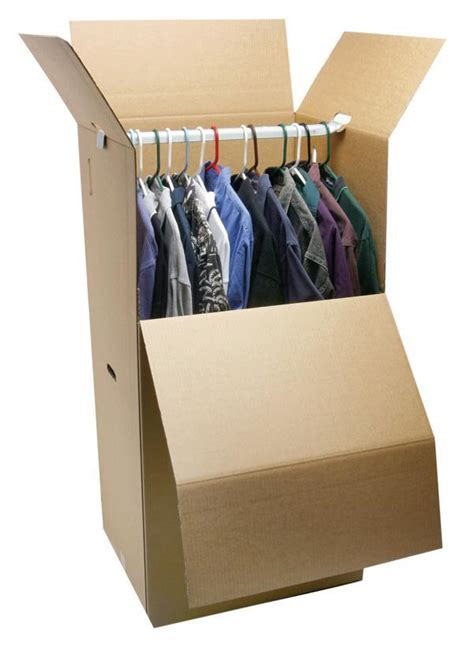 Wardrobe Storage Box by 24 Quot Wardrobe Box W Bar