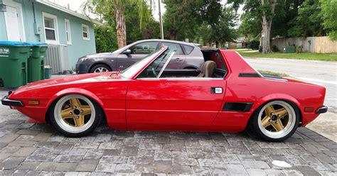 fiat x19 wheels 1974 fiat x1 9 lowered slammed stance car stuff