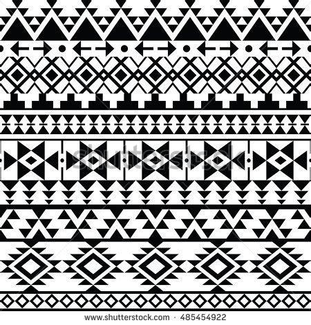 aztec pattern black and white free aztec tribal seamless grunge white pattern stock vector