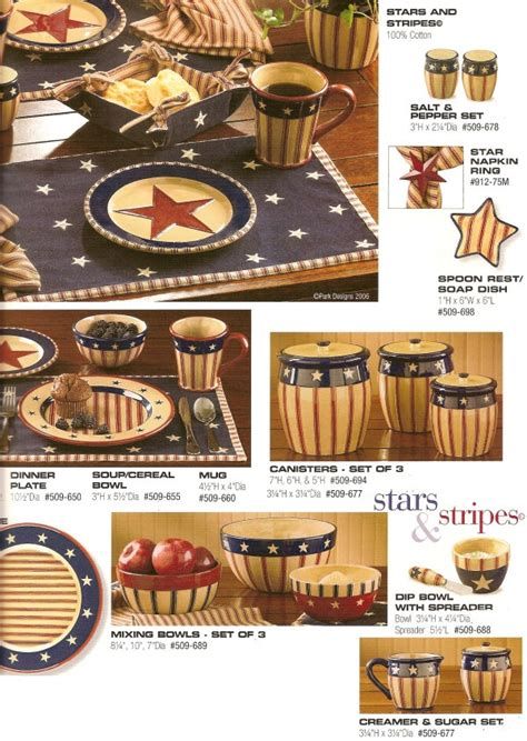 stars and stripes home decor stars stripes themed kitchen decor for the home