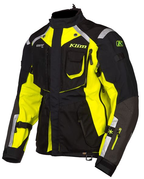 klim motocross gear klim badlands hi vis jacket revzilla
