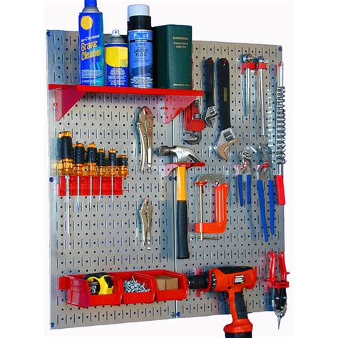 garage organization tools garage organization 2 panel metal pegboard utility tool