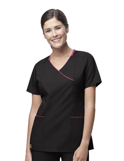 Black Scrub 7 best black scrubs images on black scrubs scrub tops and work blouse