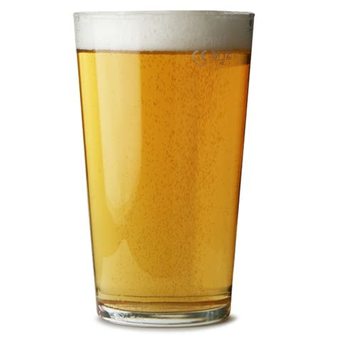 pint glass conique pint glasses 20oz 568ml nucleated glass