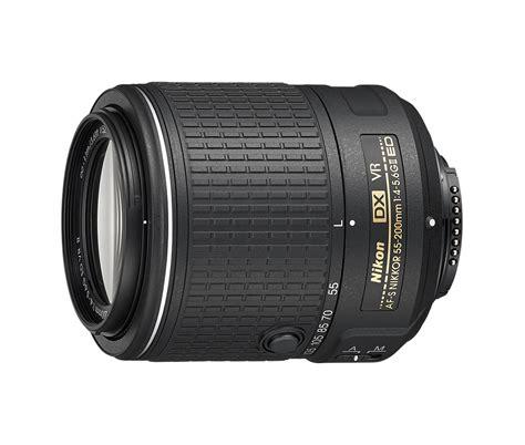 Nikon Af S 55 200mm F 4 5 6g Ed Dx af s dx nikkor 55 200mm f 4 5 6g ed vr ii obiettivo zoom