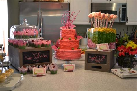 Dessert Bar Ideas For Baby Shower by The Cutest Baby Shower I Did Attend