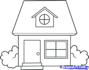how to draw houses how to draw a house coloring pages to print