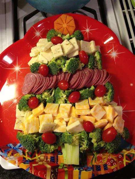 25 best ideas about christmas veggie tray on pinterest