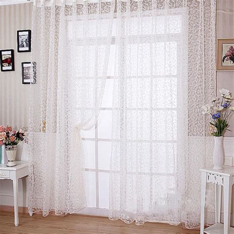 sheer curtain scarf ideas sheer scarf valances for windows window treatments