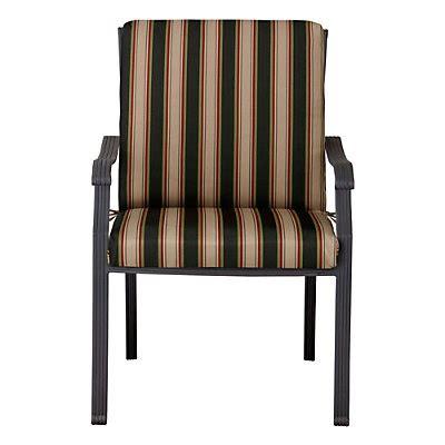 Patio Chair Hinged Cushions Hinged Seat Back Cushion 44 X22 X3