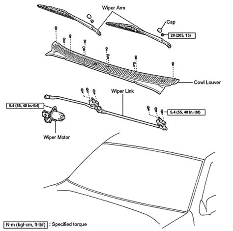 repair guides windshield wiper and washers windshield repair guides windshield wipers washers windshield