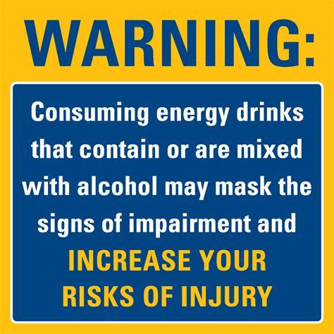 energy drink warning 6 best images of energy drink warnings spike energy
