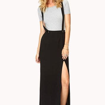 Bf6495 Maxi Overall Maxi Overall modernist overall maxi skirt from forever 21