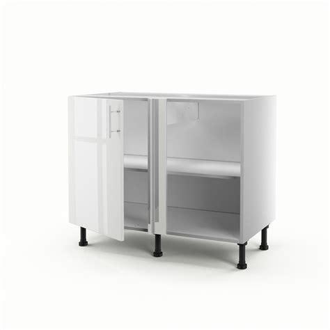 Charmant Meuble Bas Angle Cuisine Leroy Merlin #2: meuble-de-cuisine-bas-d-angle-blanc-1-porte-rio-h70xl100xp56-cm.jpg