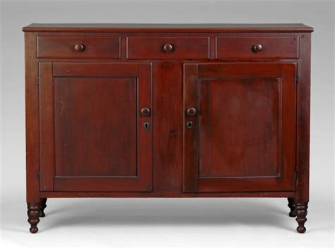 Antique Country Cherry Buffet For Superb 19th C American Cherry Sheraton Country Sideboard