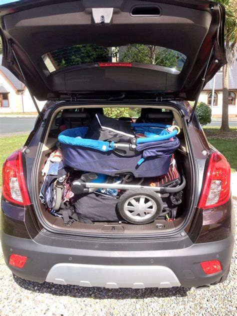 vauxhall mokka trunk image gallery opel mokka luggage space