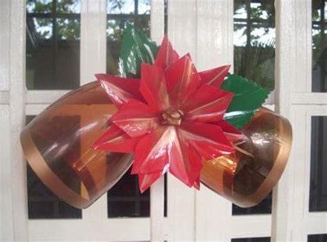candelabros en botellas plasticas decoracion navide 241 a con botellas de plastico