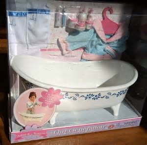 american girl doll bathtub new american girl doll 18 034 size white bathtub bath tub accessories ebay