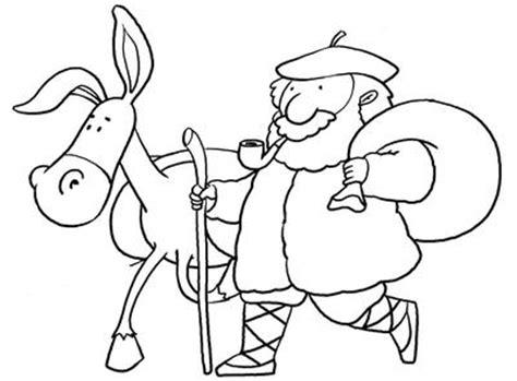 olentzero para colorear az dibujos para colorear trapagarango udal musika eskola diciembre 2012