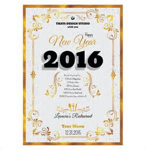 photoshop menu templates 13 new year menu templates free psd eps illustrator