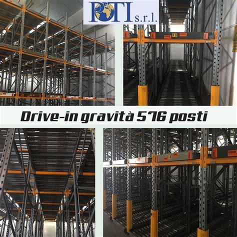scaffali drive in drive in a gravit 224 scaffali usati compravendita