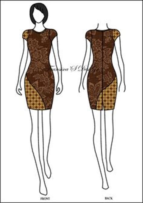 sketsa desain dress batik 1000 images about model batik on pinterest batik dress