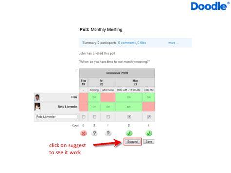 doodle calendar integration calendar integration with doodle
