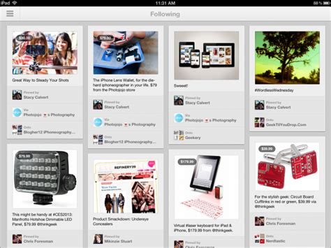 pinterest app layout hands on major pinterest app update for iphone ipad