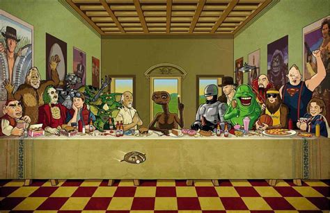 film ultima cina classic 80 s movie characters last supper