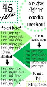 machine based workout routine cardio exercise workouts