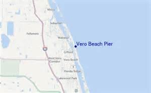map of vero florida area vero pier surf forecast and surf reports florida