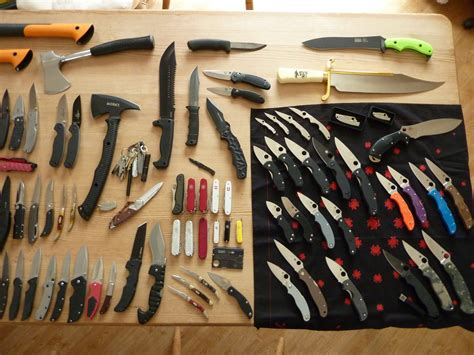 knife collection sup3rsaiy3n s knife collection