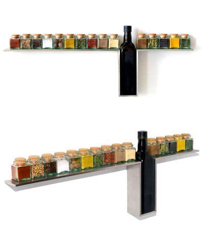 Wall Mounted Spice Shelf by Modern Wine Rack With A Water Drop Design Freshome
