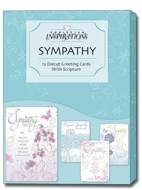 sympathy card template publisher of mercies 12 christian sympathy cards with