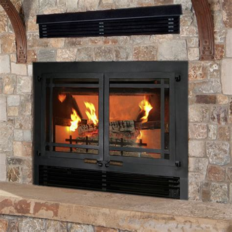 Wood Fireplace Doors by Wilkening Fireplace Wood Burning Fireplaces Fireplace