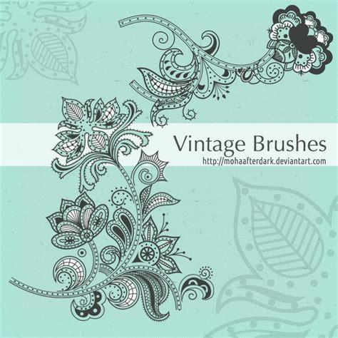 vintage pattern photoshop brushes vintage brushes photoshop brushes