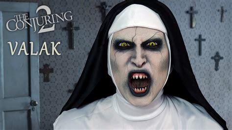tutorial makeup valak makijaż na halloween valak z obecność 2 conjuring 2