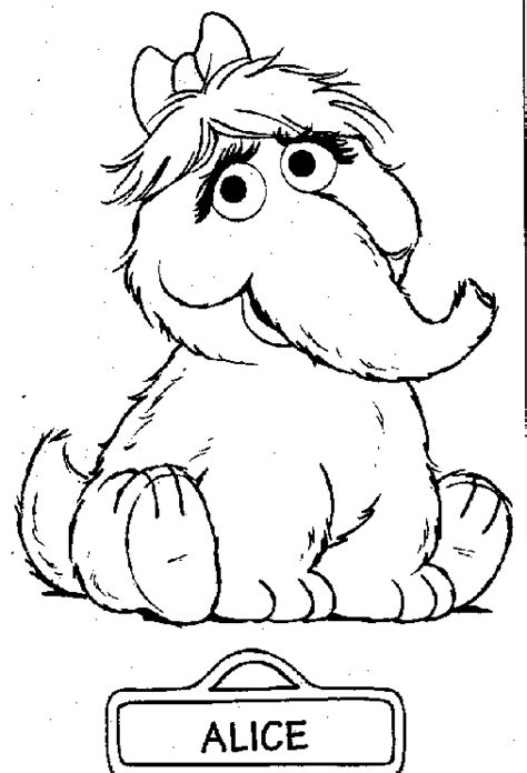 sesame street coloring pages printable coloring pages