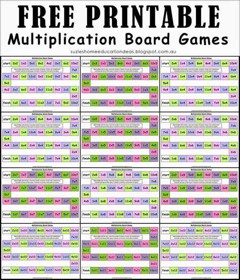 logic board games printable printable math board games for preschoolers 4 best