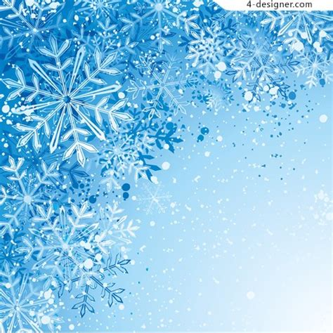 images of christmas snowflakes 4 designer blue christmas snowflake background vector