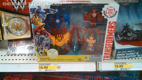 Minicon Retail transformers robots in disguise minicons weapon 4 pack found at us retail